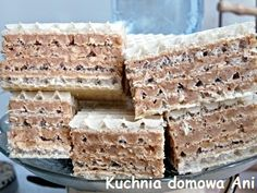 Polish Desserts, Polish Recipes, Serbian Recipes, Low Carb Side Dishes, Pumpkin Cheesecake, Food Cakes, Baked Goods, Cookie Recipes, Delicious Desserts