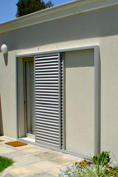 sliding shutters for improved security and light control - June 15 2019 at Outdoor Shutters, Interior Window Shutters, Interior Windows, Interior Barn Doors, Pallet Shutters, Navy Shutters, Cottage Shutters, Gate Design, Door Design