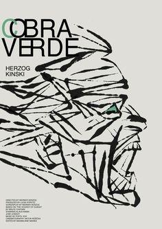 """antoniostella: """" Poster for """"Cobra Verde"""" - 1987 by Werner Herzog. """""""