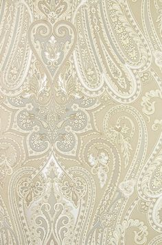 Stunning damask gold foil wallpaper Obsessed with TEAL
