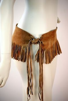 leather fringe