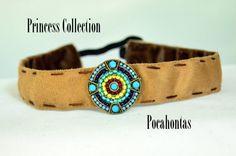 Pocahontas inspired Running Headband by harepeace1 on Etsy, $25.00