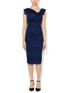 Jackie O Cotton Sheath Dress from Black Halo on Gilt