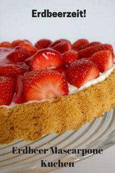 Anzeige Schnelle Erdbeer Mascarpone Torte Zum Muttertag Und Ein