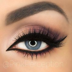 54 Best Ideas Of Makeup For Blue Eyes 54 Best Ideas Of Makeup For Blue Eyes,Make-up Matte Smokey With Bold Black Eyeliner Do you know how perfect makeup for blue eyes looks. Eye Makeup Steps, Blue Eye Makeup, Eyeshadow Makeup, Lip Makeup, Makeup Brushes, Eyeshadow Palette, Makeup Remover, Beauty Makeup, Eyelashes Makeup