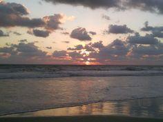 Sunrise with shrimp boat