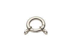 Round Spring Clasp With Ring