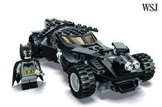 SDCC: #Lego to Unveil New Batmobile Set Tied to 'Batman v Superman: Dawn of Justice' - Speakeasy - WSJ