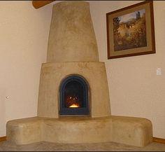 corner kiva fireplace designs - Bing Images   Home Decor ...