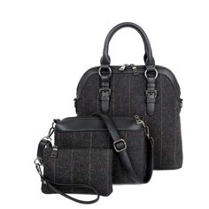Cheap shoulder bags, Buy Quality messenger bag directly from China women messenger  bags Suppliers  3 Pcs Set Wool Handbags Women Messenger Bags Female Purse  ... f332168e66