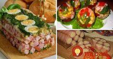 Hľadáte na veľkonočný stôl chutné a originálne pohostenie? Prinášame vám skvelé tipy na chutné želé pochúťky na slano, s rýchlou prípravou a vynikajúcou chuťou. Vyskúšate? Catering, Cooking Recipes, Ethnic Recipes, Food, Meal, Food Recipes, Chef Recipes, Eten, Meals