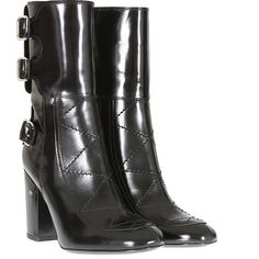 Laurence Dacade black glazed leather Merli boots (12.721.880 IDR) ❤ liked on Polyvore featuring shoes, boots, laurence dacade boots, black high heel boots, kohl shoes, high heeled footwear and black shoes
