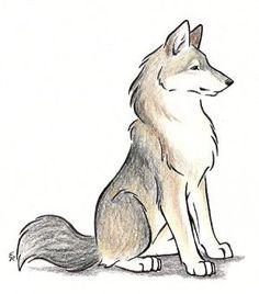 Origami Animals Drawing Deviantart 67 Ideas - Drawing Still 2020 Cute Sketches, Animal Sketches, Art Drawings Sketches, Pencil Drawings, Cute Wolf Drawings, Kawaii Drawings, Simple Drawings, Realistic Drawings, Beautiful Drawings
