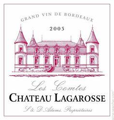 Chateau Lagarosse Les Comtes / Cotes de Bordeaux