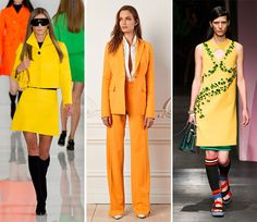Spring/ Summer 2014 Color Trends - Freesia Yellow