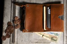 Hard Graft Zip Wallet