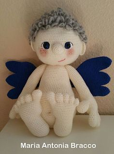 Angel - free Amigurumi pattern for Christmas