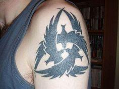 Best Crow Tattoo Design