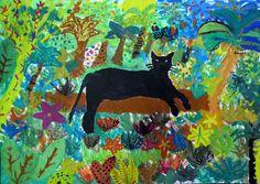 """Kunstunterricht: R.M. Rilke """"Der Panther"""""""