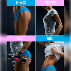 Make your hips look rounder with workout below! , Make your hips look rounder with workout below! Make your hips look rounder with workout below! Fitness Workouts, Yoga Fitness, Sport Fitness, Fitness Diet, Health Fitness, Physical Fitness, Fitness Motivation, Ab Workout At Home, Workout Challenge
