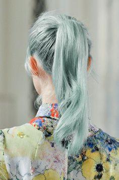 Soft grunge hair