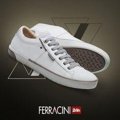 Um leve toque minimalista no seu dia a dia sem comprometer o conforto necessário para sua rotina!      #ferracini24h #shoes #cool #trend #brasil #manshoes