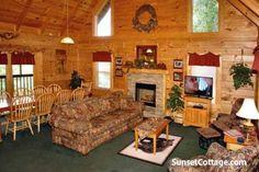 Grinnin Bears | Vacation Cabin Rental $385/night peak - 5 br - sleeps 20