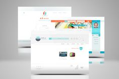 طراحی فروشگاه آنلاین قطعات گوشی موبایل SHS