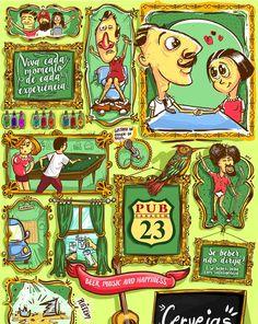 Capa cardápio. #illustration #color #art viniribeiro.com