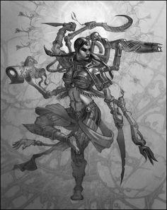 Zelazny's Lord of Light - Kali