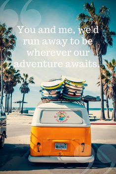 Love, love, love - Avalanche City song lyrics. Made it to our travelling playlist. Great travel quote.