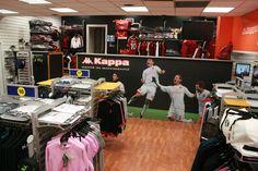 Abbigliamento #calcio by #Kappa www.angolodellosport.com