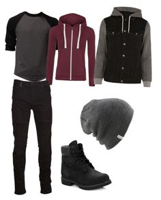 """Jughead Jones outfit Riverdale"" by patula432 on Polyvore featuring WearAll, River Island, Marcelo Burlon, Timberland, Coal, men's fashion i menswear"