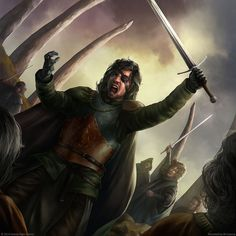 Euron Greyjoy the Crow's Eye at the Kingsmoot, by JB Casacop. #ASOIAF #AFFC