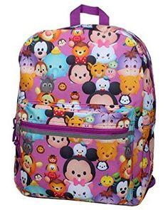 Disney Tsum Tsum16 inch Backpack - Stack on Stacks