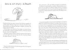 Actividades antes, durante y después de la lectura El principito