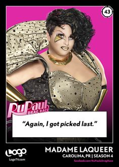 RPDR trading cards