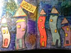 "I added ""whispers through the window: Art Journal Journey C"" to an #inlinkz linkup!http://whispersthroughthewindow.blogspot.com/2014/06/art-journal-journey-challenge-houses.html"