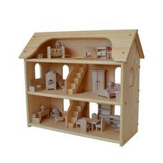 Maison de poupée Waldorf-maison de poupée par AToymakersDaughter                                                                                                                                                                                 More