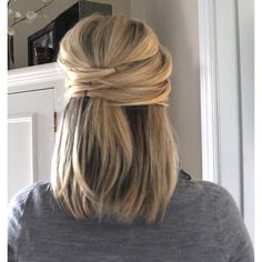 Hair-do for people with short hair