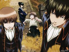 Okita Sougo x Hijikata Toshiro , OkiHiji , HijiOki , Gintama Okikagu, Manga, Anime, Animation, Mayonnaise, Fangirl, Prince, Couple, Silver