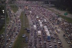 Disastrous Hurricane Rita evacuation in Houston