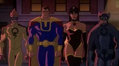 "Crime Syndicate of America in the movie ""Justice League: Crisis on Two Earths"""