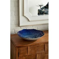 null Beautiful hand-finishing, an organic silhouette, and textile-inspired detail lend this glass charger artful authenticity. Decorative Pillows, Decorative Bowls, Stone Flooring, Birch Lane, Coastal Style, Glass Table, Home Decor Outlet, Glass Design, Joss And Main