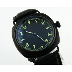 We just love the new style. Do you?: Parnis 45mm PVD B... Check it out here! http://parniswatches.net/products/parnis-45mm-pvd-black-california-dial-watch-mechanical-movement-6497