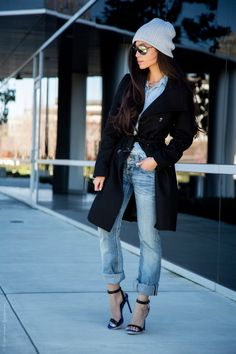 Winter Beanie outfit - Stylishlyme