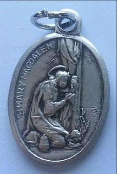 St. Mary Magdalene Oxidized Medal