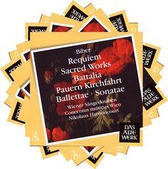 Il galà della musica The music gala: Biber – Requiem, 2 Cantatas, Battalia…