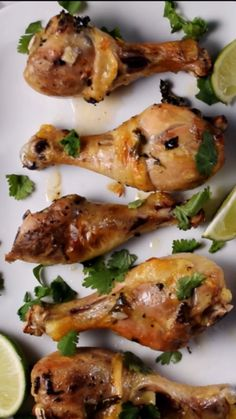 4 ingredients; 6 servings - Slow Cooker Cilantro Lime Chicken Drumsticks packs a lot of flavor in an easy dinner recipe. Fresh cilantro, lime, garlic, and chicken drumsticks cook just a few hours in the slow cooker. So simple, yet so tasty! Make this EASY CHICKEN RECIPE tonight! #LTGrecipes #slowcooker #chicken #easyrecipe #easydinner #cilantrolimechicken #chickendrumsticks #chickenlegs #legsrecipe #crockpot #crockpotrecipe