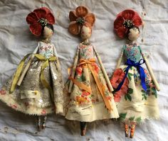 Fairy dolls by The Magpie and the Wardrobe More